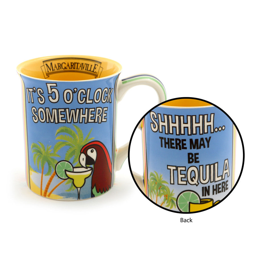 5 O 'Clock Somewhere Mug