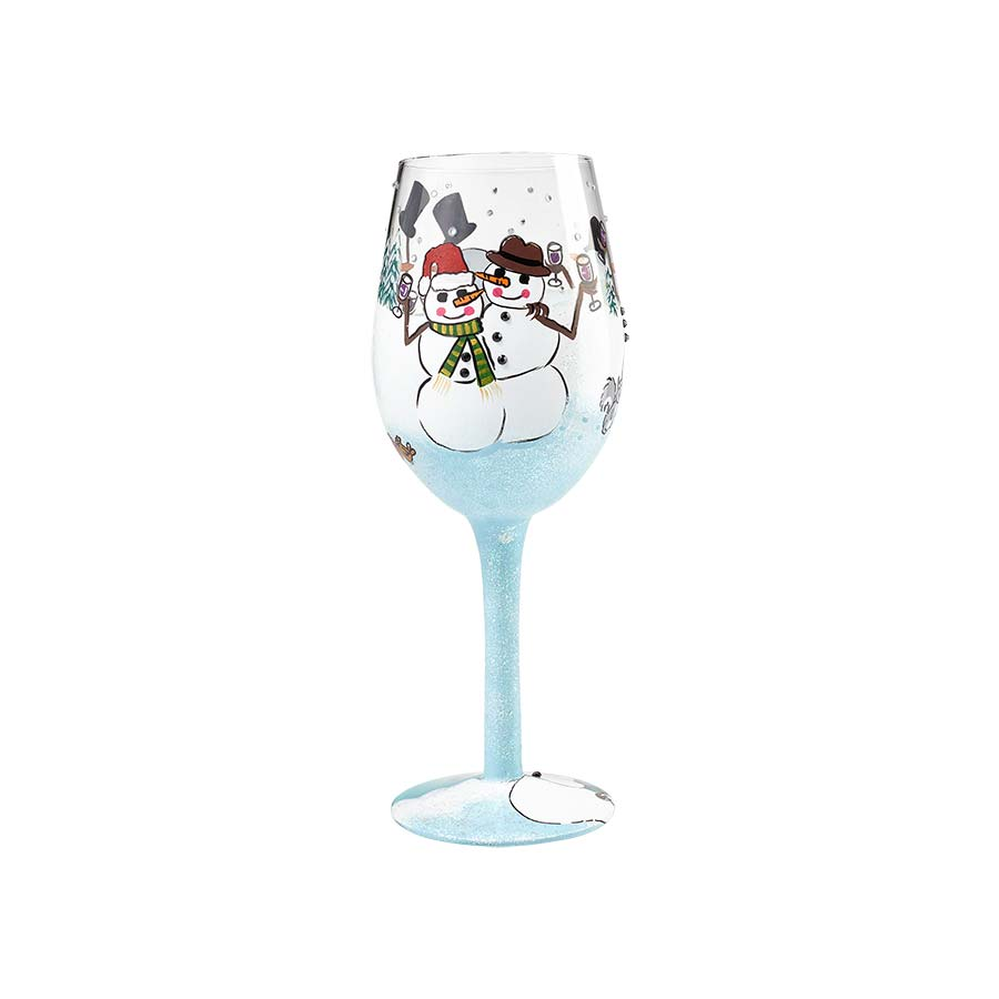 Wine Glass Chilly Cheers