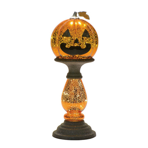 LIT Small Pumpkin Decor
