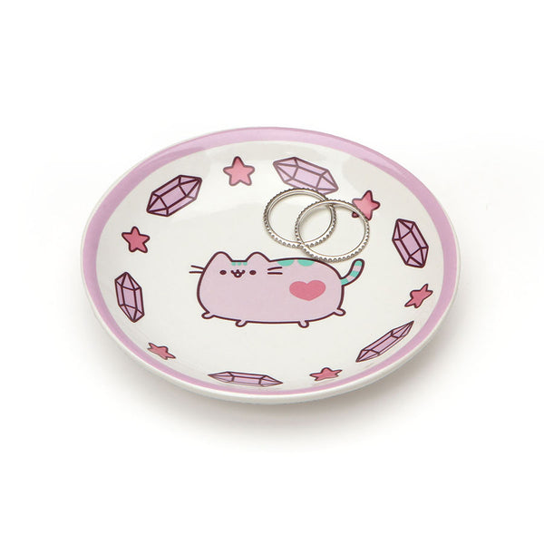 PUSHEEN PURPLE TRINKET TRAY