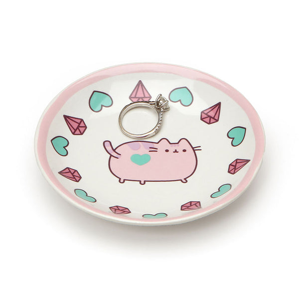 PUSHEEN PINK TRINKET TRAY