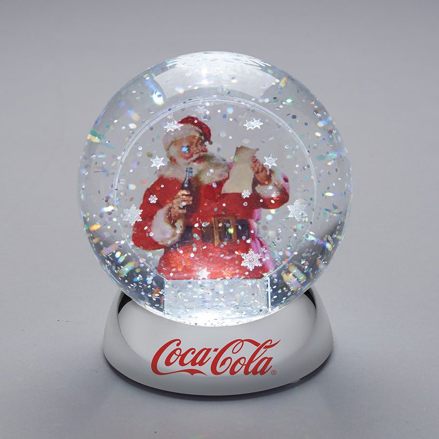 Santa with Coke waterdazzler