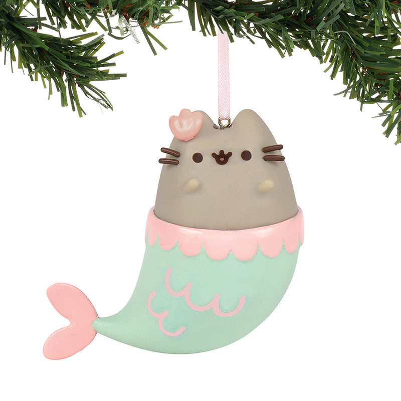 Pusheen Mermaid Ornament
