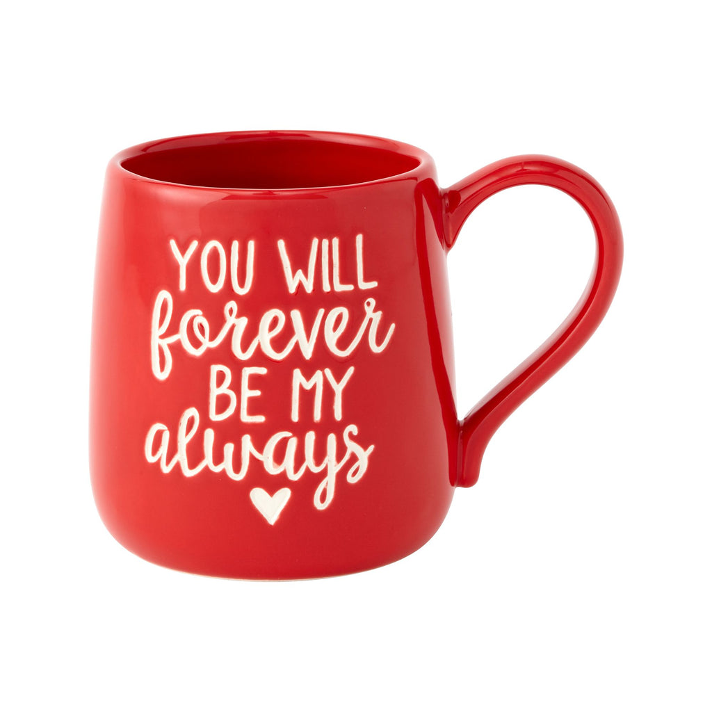FOREVER ALWAYS ETCHED MUG