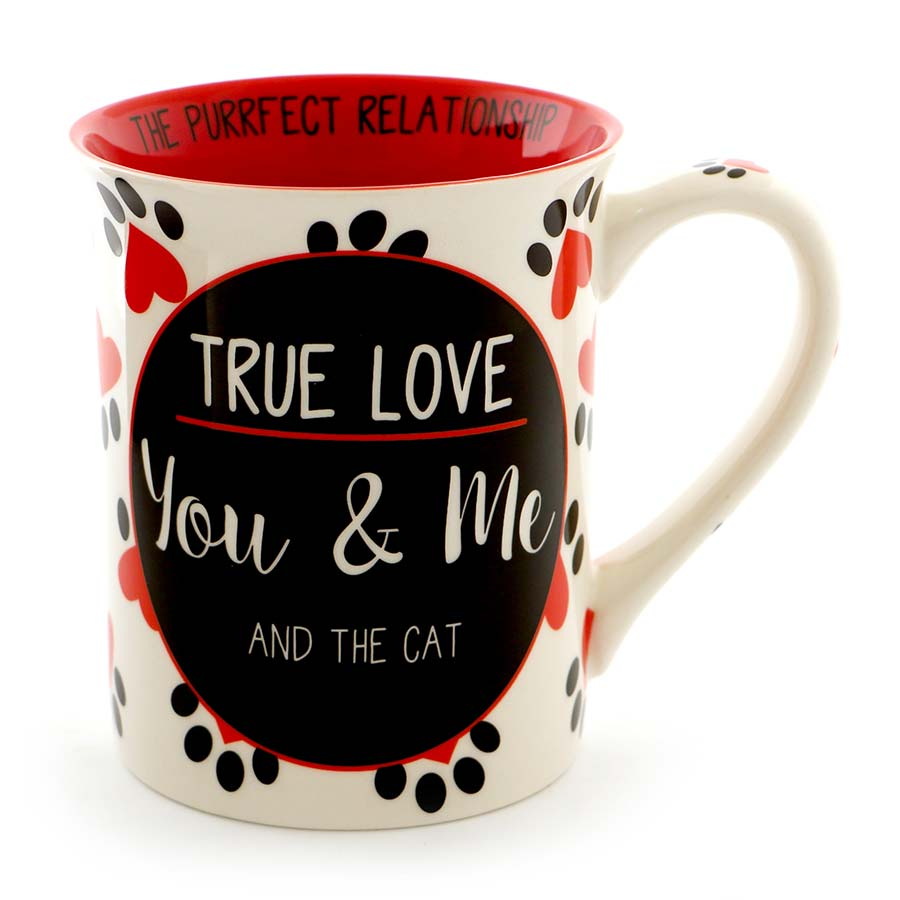 TRUE LOVE CAT MUG