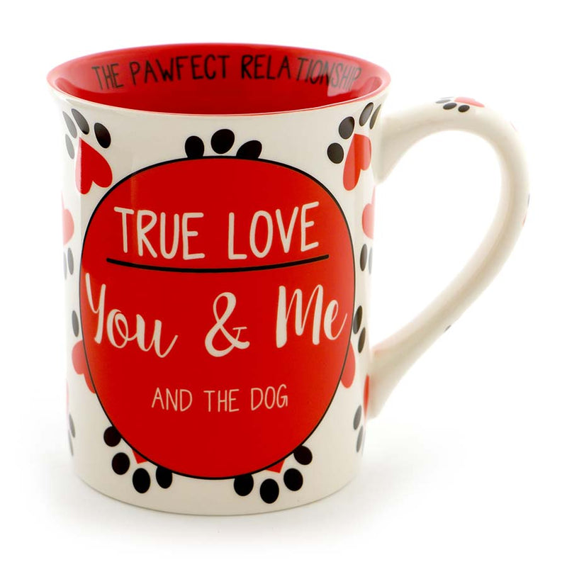 TRUE LOVE DOG MUG