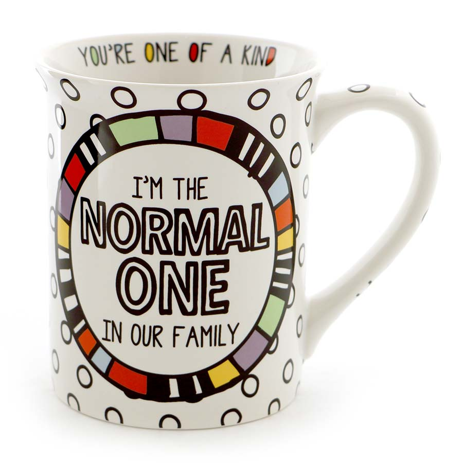 NORMAL ONE CUPPA DOODLE MUG