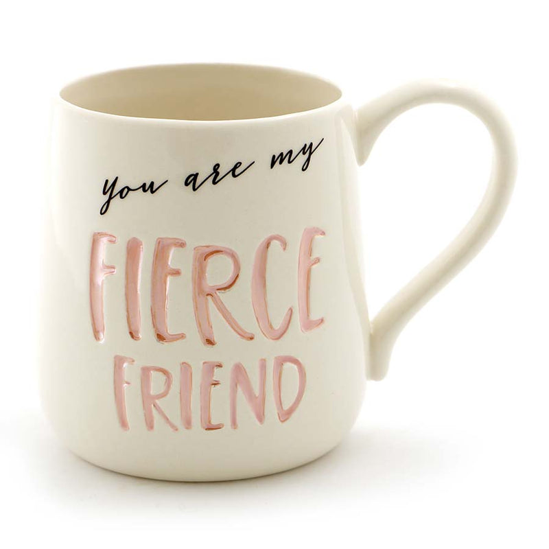 FIERCE FRIEND ETCHED MUG