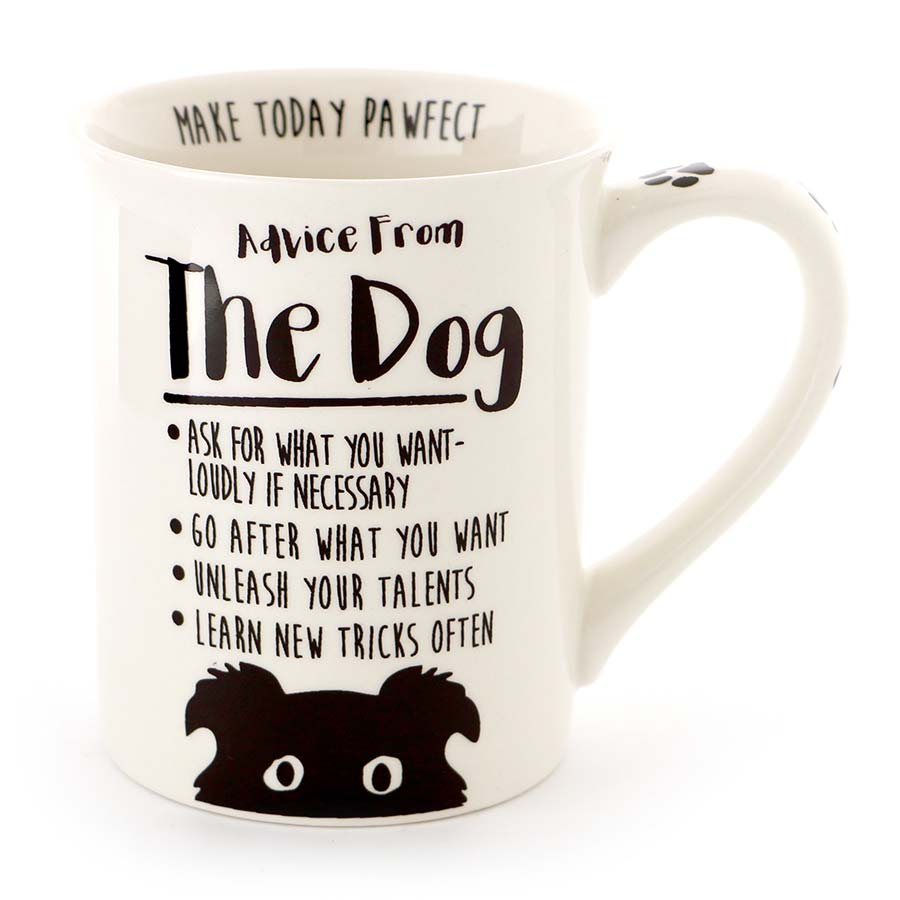 ADVICE FROM DOG MUG
