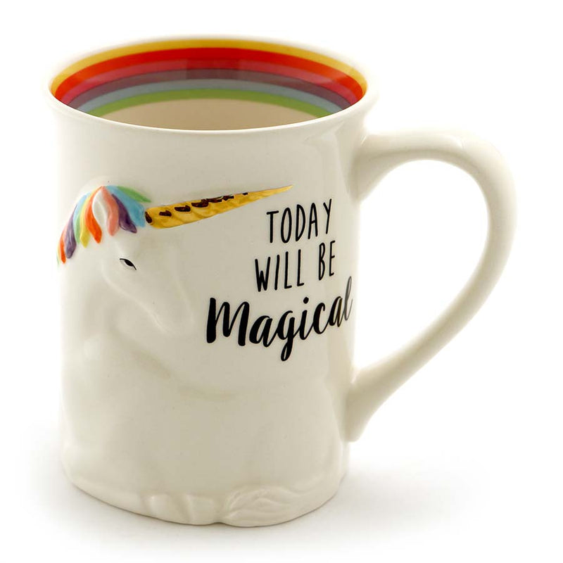 MAGICAL UNICORN SCULPTED MUG