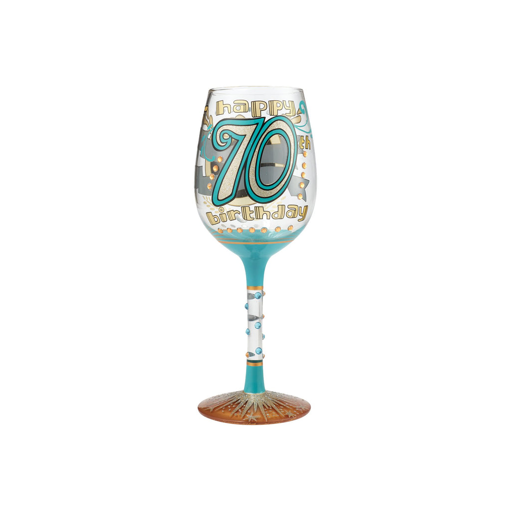 Wine Glass 70th Birthday