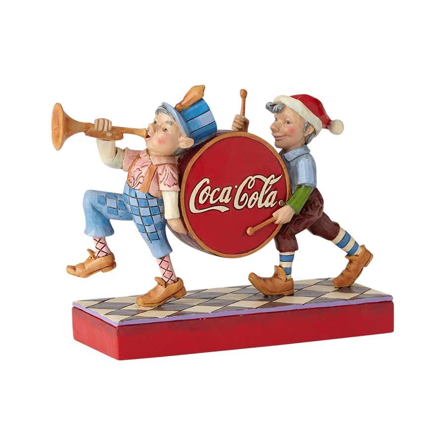 Coca Cola Elf Marching