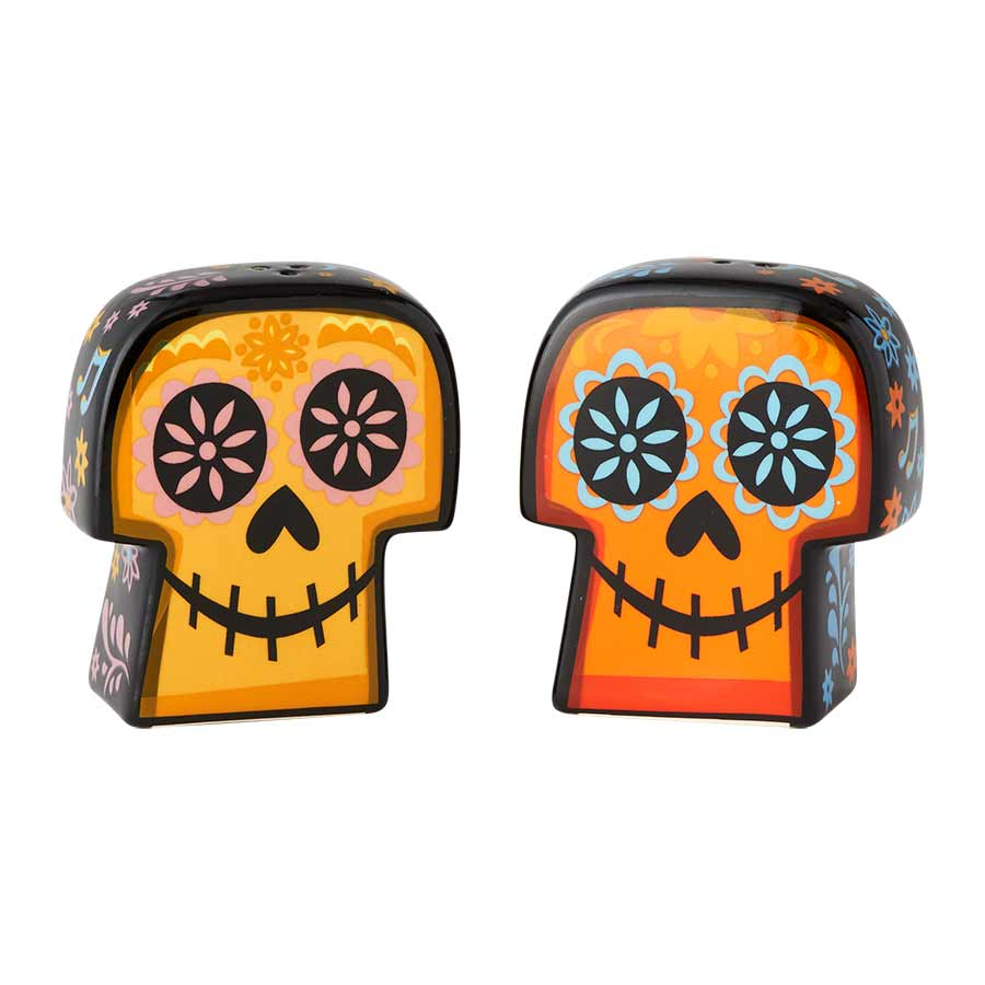 Coco Ceramic  Sugar Skulls S&P