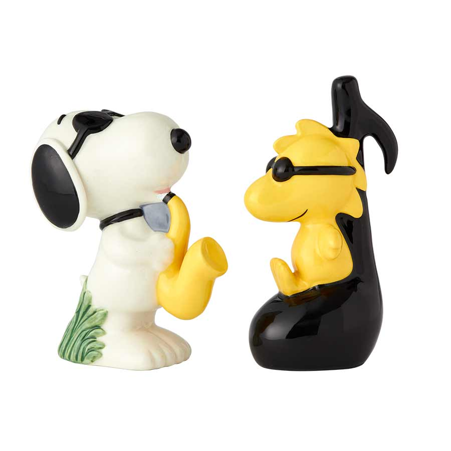 Snoopy & Woodstock Ceramic S&P