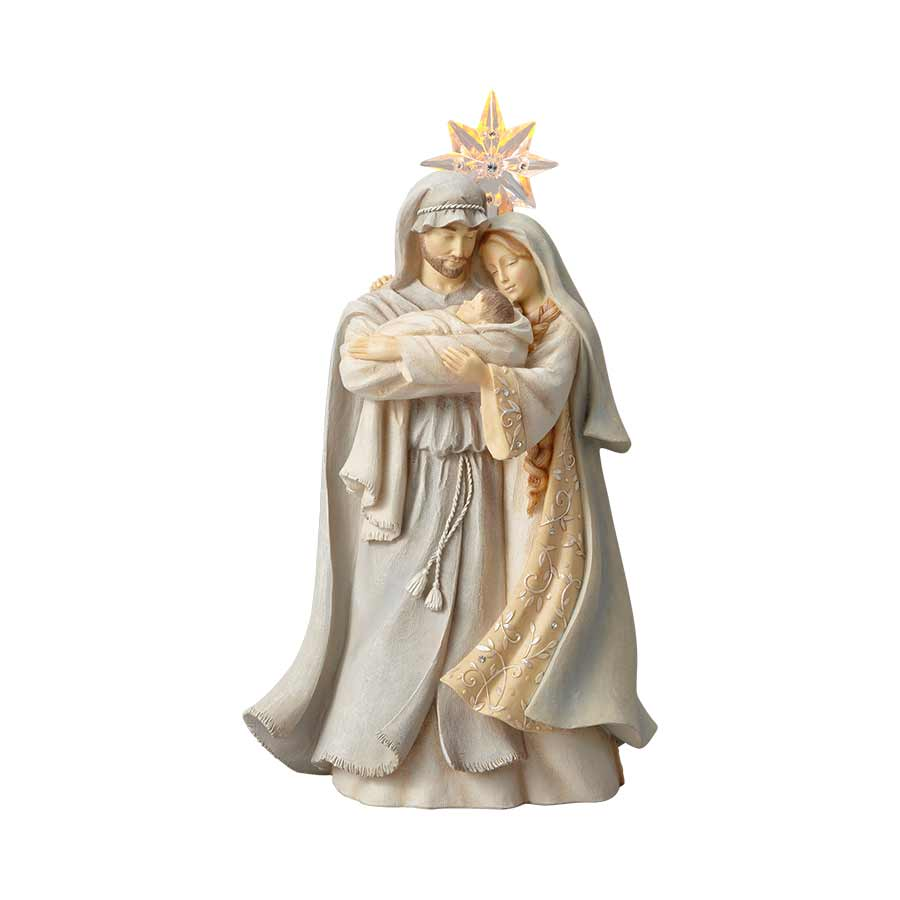 Holy Family with Star, 10.3""