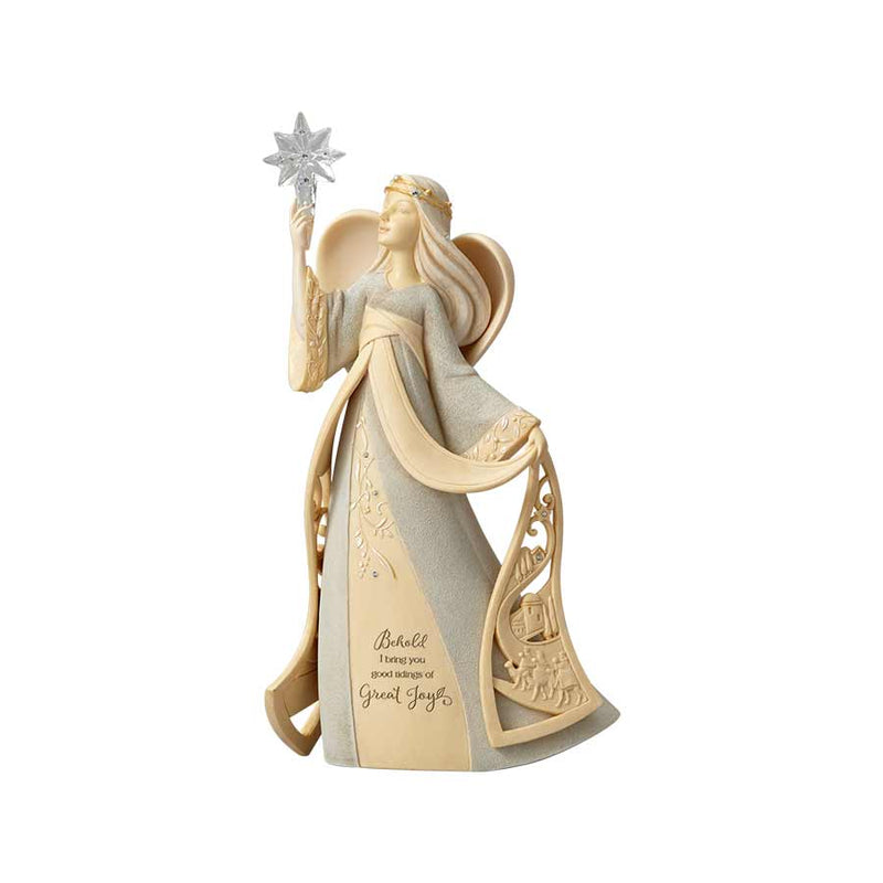 Nativity Angel with Star, 9.7""