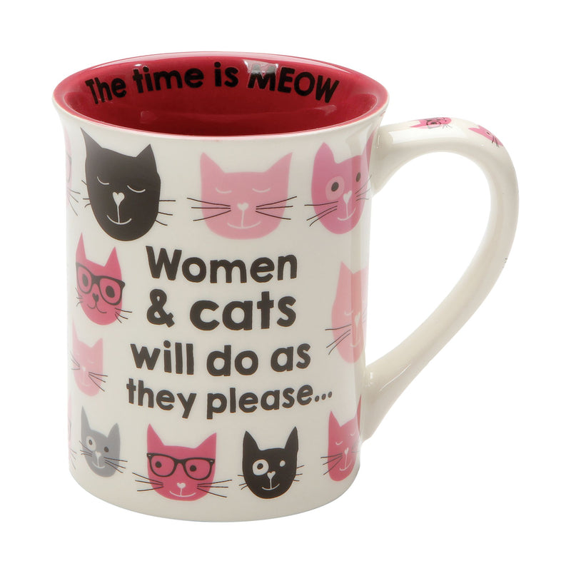 PINK KITTIES WOMAN & CATS