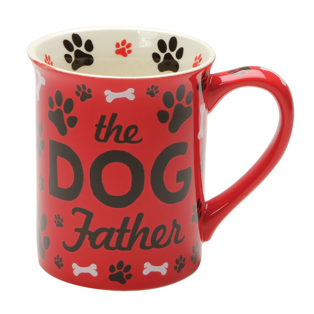 DOGFATHER RED MUG