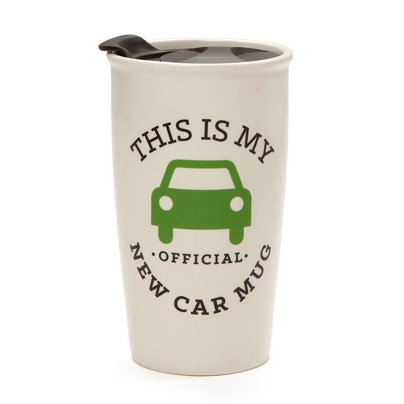 NEW CAR TRAVEL MUG