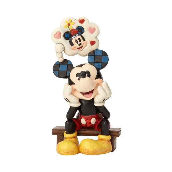 Image result for Disney Traditions General Collection Mickey with Thought