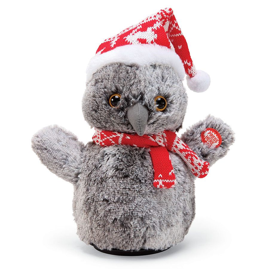 XMBAR Christmas Animated Owl
