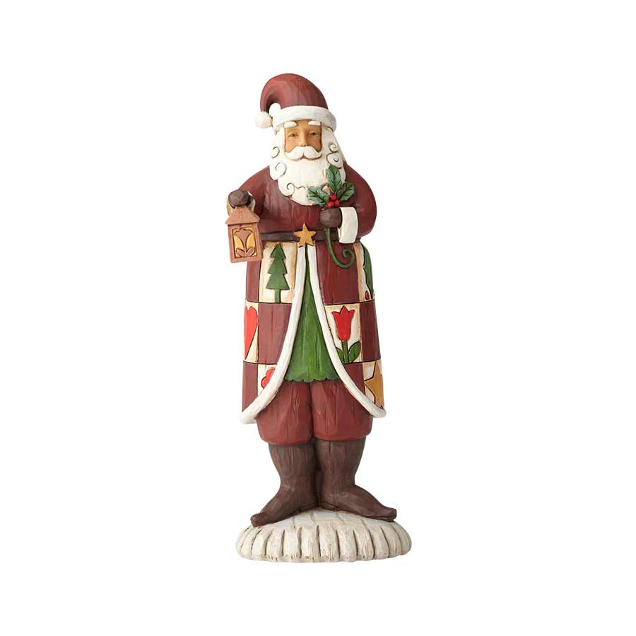 Folklore Santa with Lantern