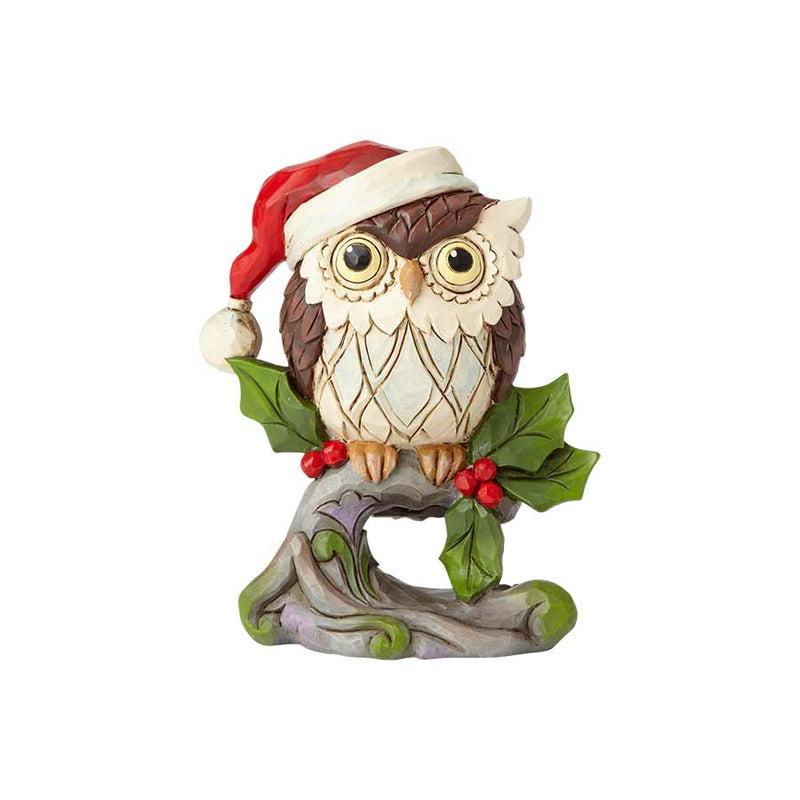 Mini Christmas Owl on Branch