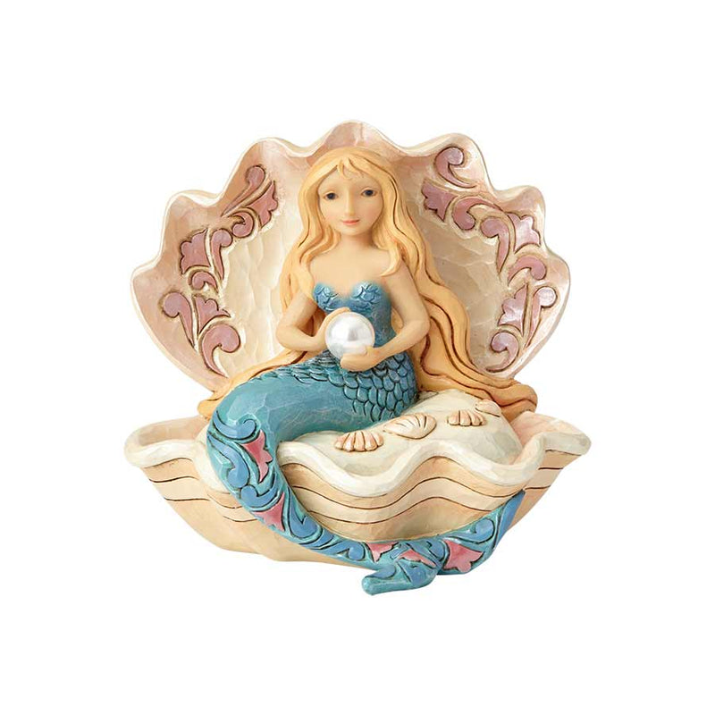 Mermaid Sitting in Clam Shell