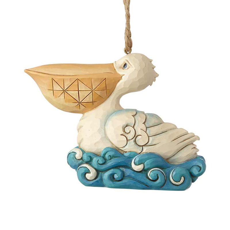 Coastal Pelican Ornament