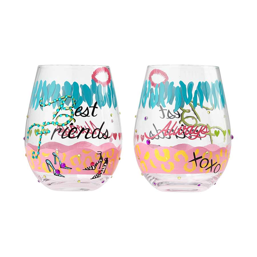Stemless Best Friends 2 pc Set