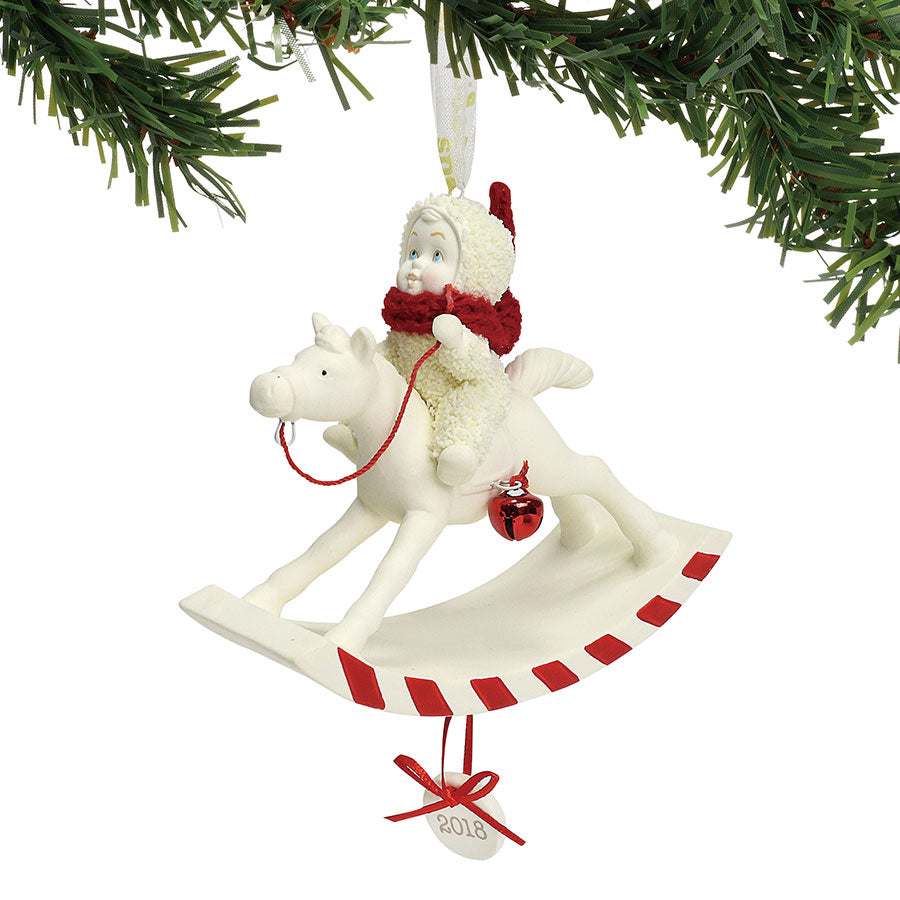 Peppermint Pony Ornament, 2018