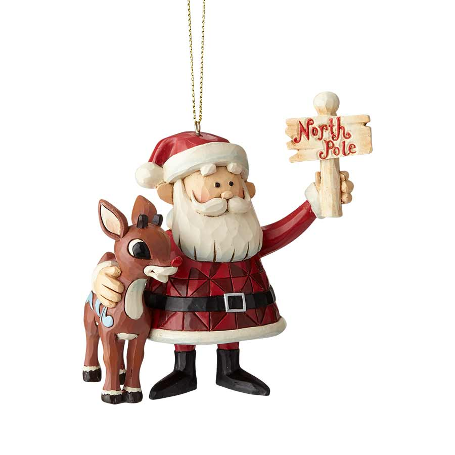 Rudolph & Santa North Pole