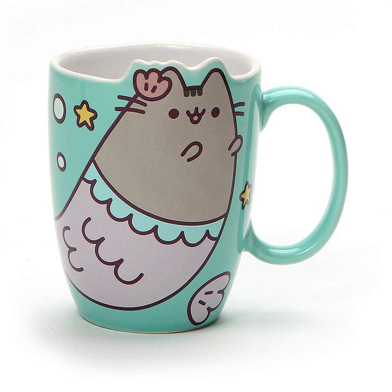 Pusheen Memaid Mug 12 oz