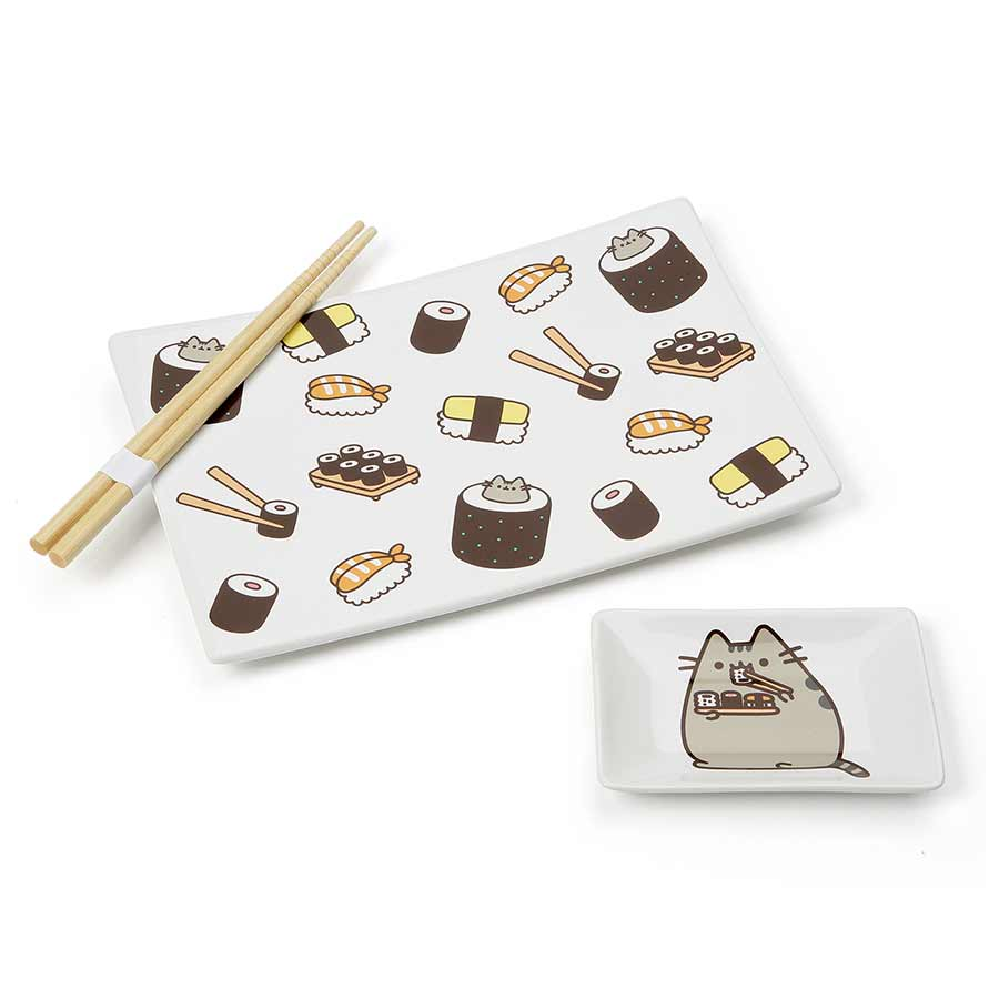 Pusheen Sushi Set w chopstick