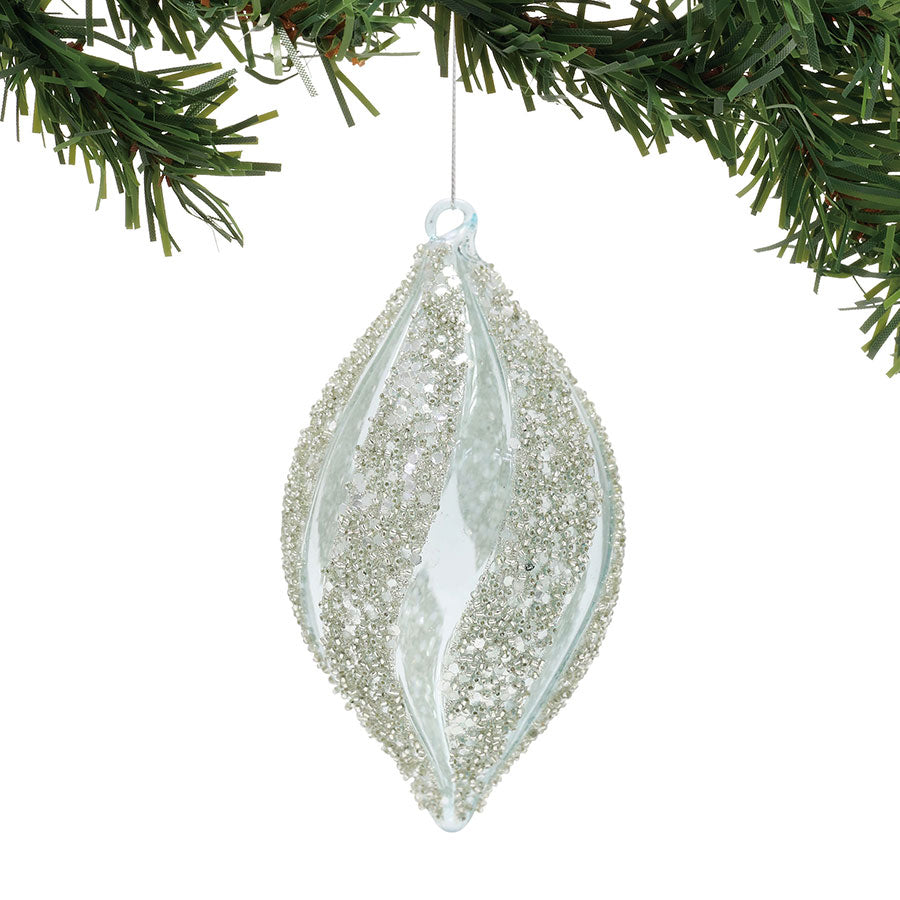 Beaded Finial Ornament