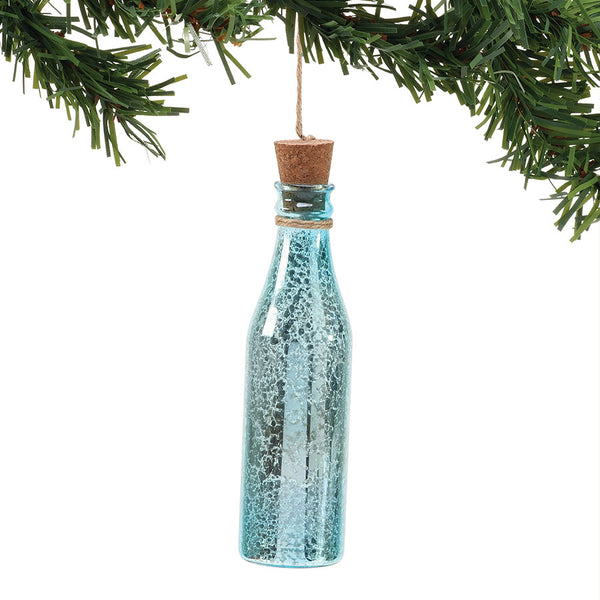 COAST Glass Bottle Ornament