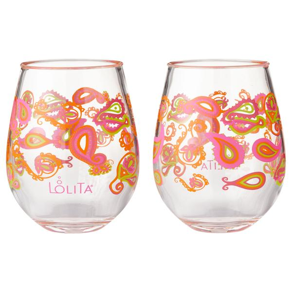 Paisley 2 pc set Acrylic