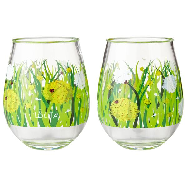 Dandelion 2 pc set Acrylic