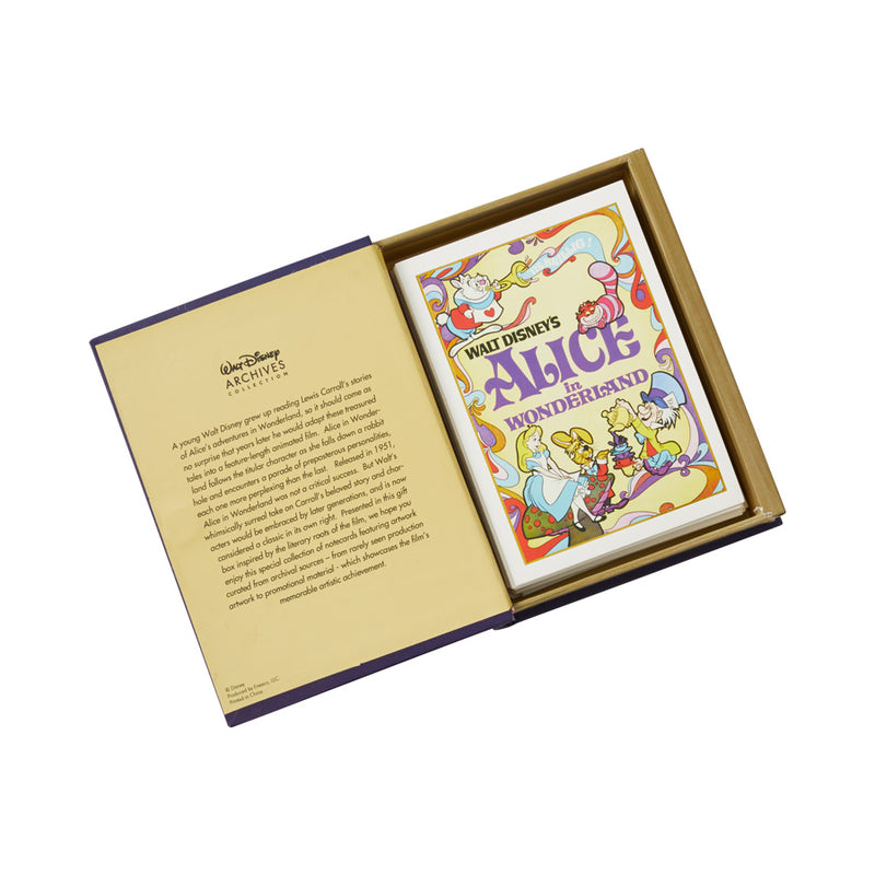 Alice Bookbox Notecard