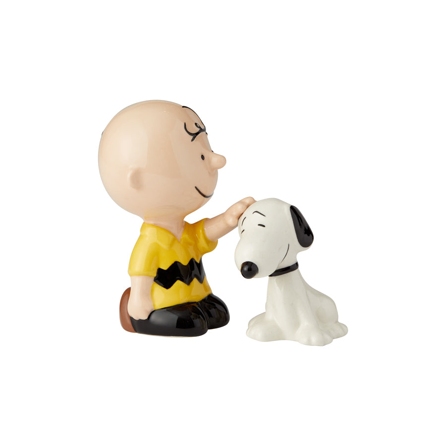 Charlie Brown Pets Snoopy S&P