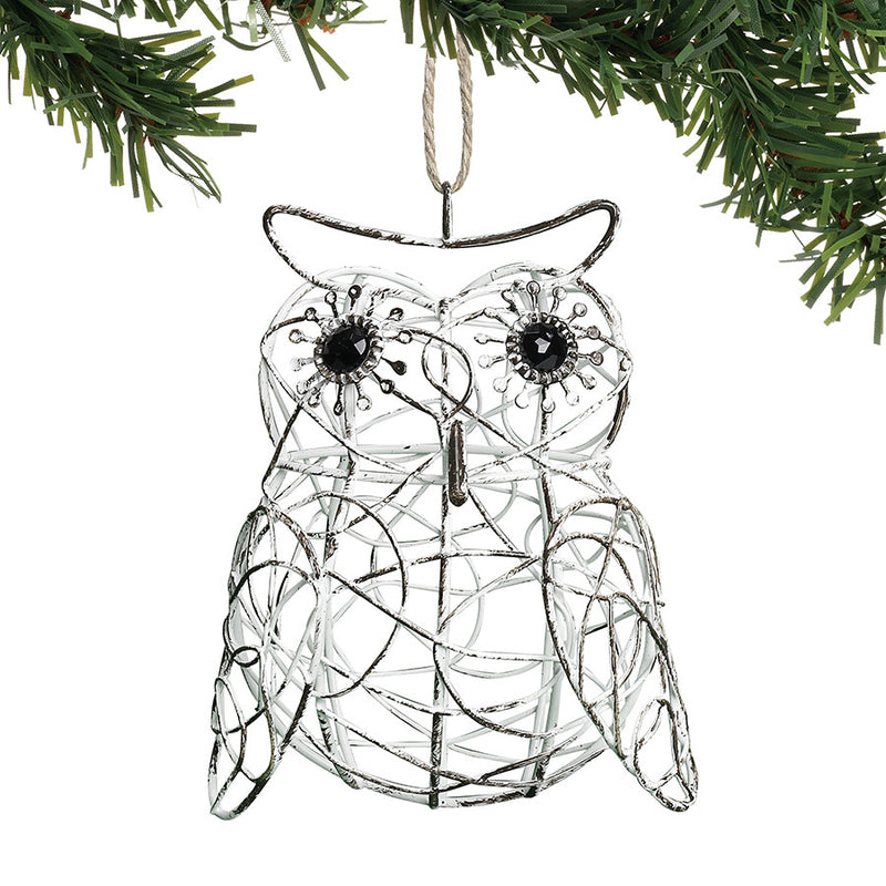 Wire Owl Orn