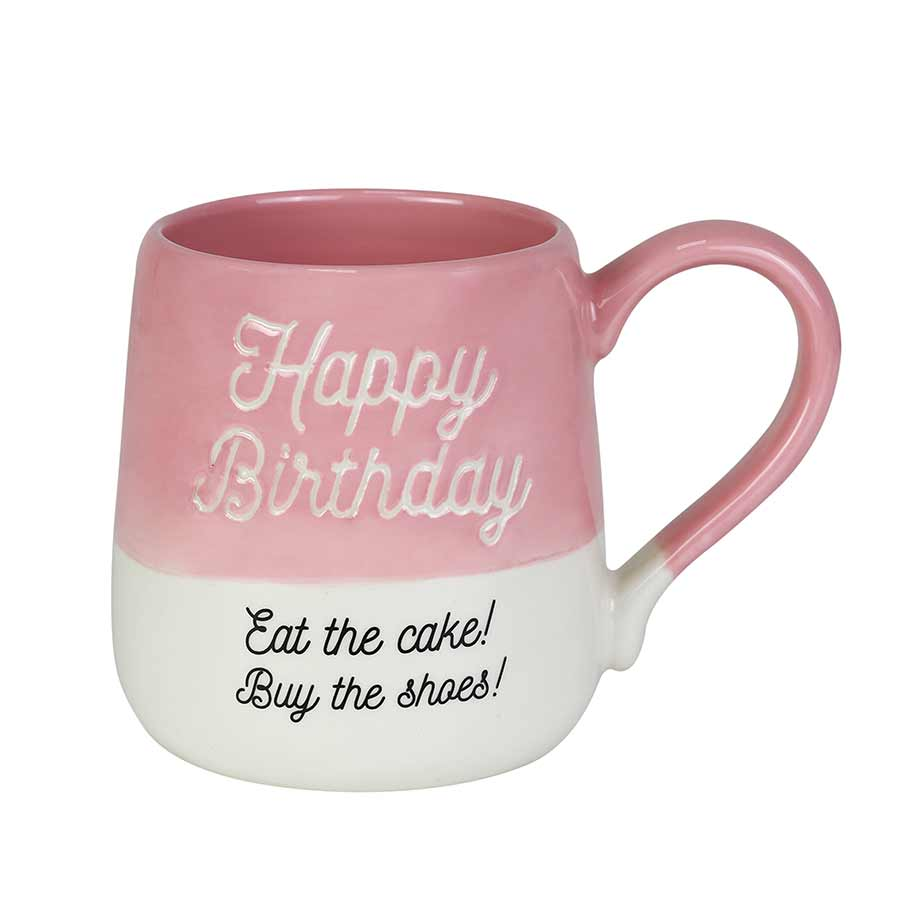 Happy Birthday Engraved Mug