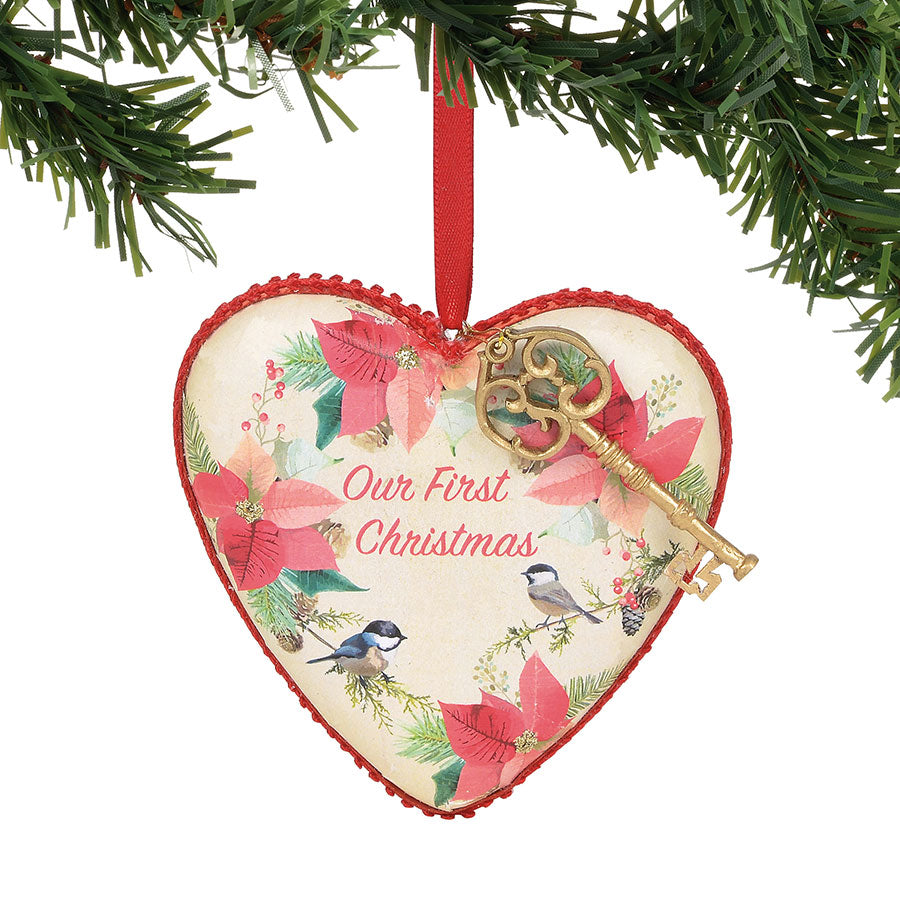 Our First Christmas Heart – Enesco Gift Shop