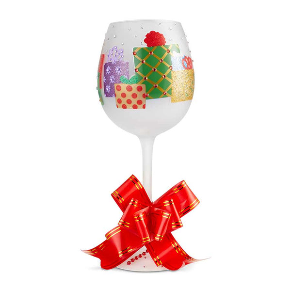 Wine Glass Bling Yuletide