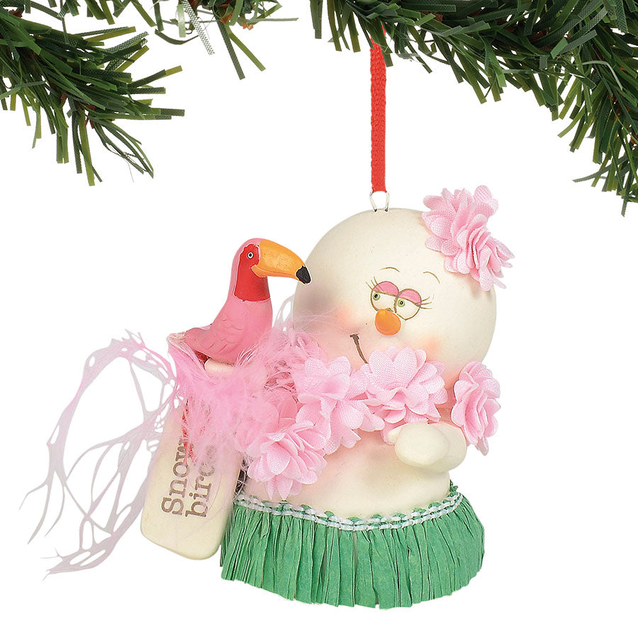 Snow Birds Ornament