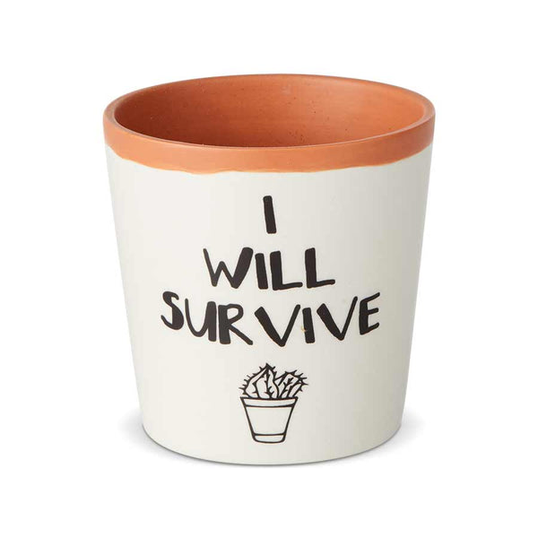 I Will Survive Planter