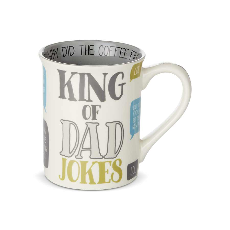 Dad King of Jokes Mug