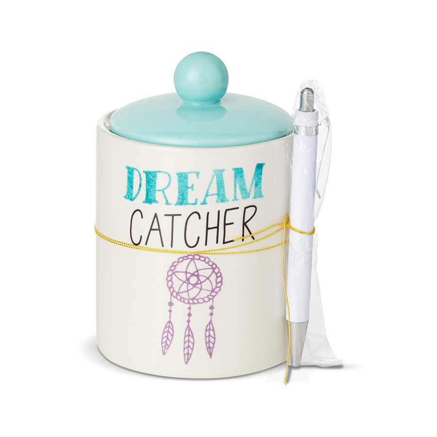 Dreamcatcher Jar Paper Pen Set