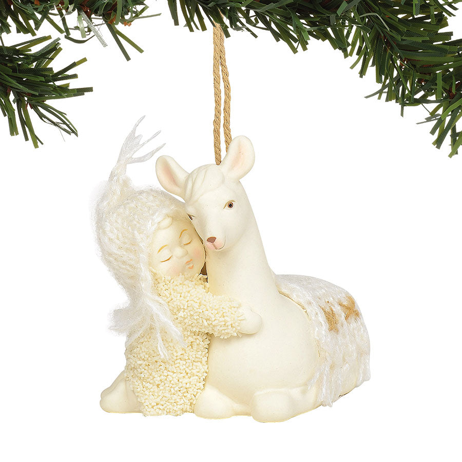 Peaceful Kingdom Llama Ornamen