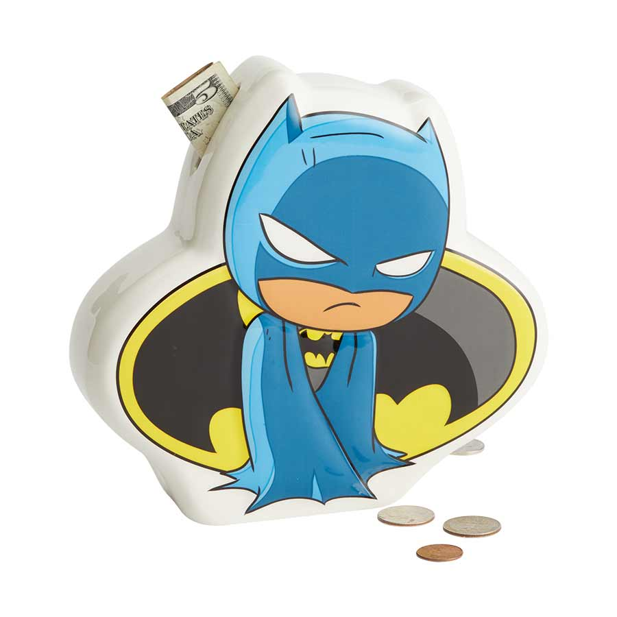 DC SuperFriends Batman Bank